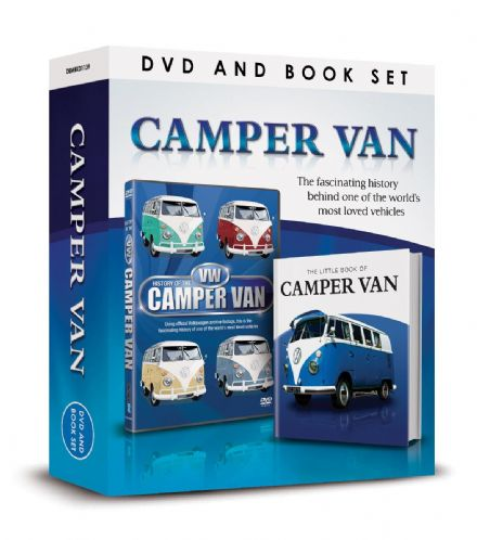 VW Camper Van DVD and Book Set